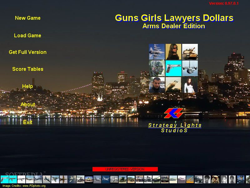 Guns Girls Lawyers Dollars - Arms Dealer Edition screenshot 1