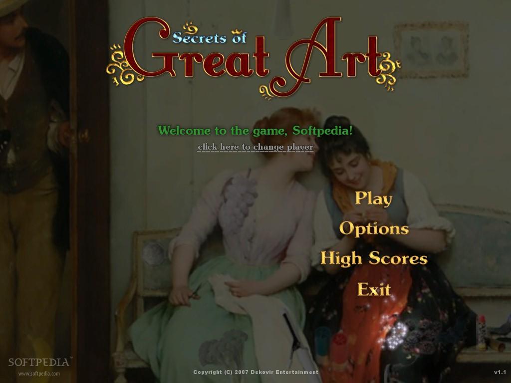 Esmeralda pc games: secrets of great art.