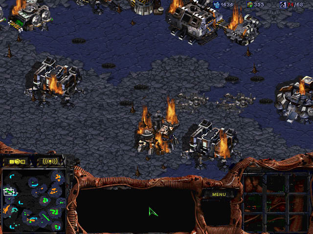 Starcraft brood war.