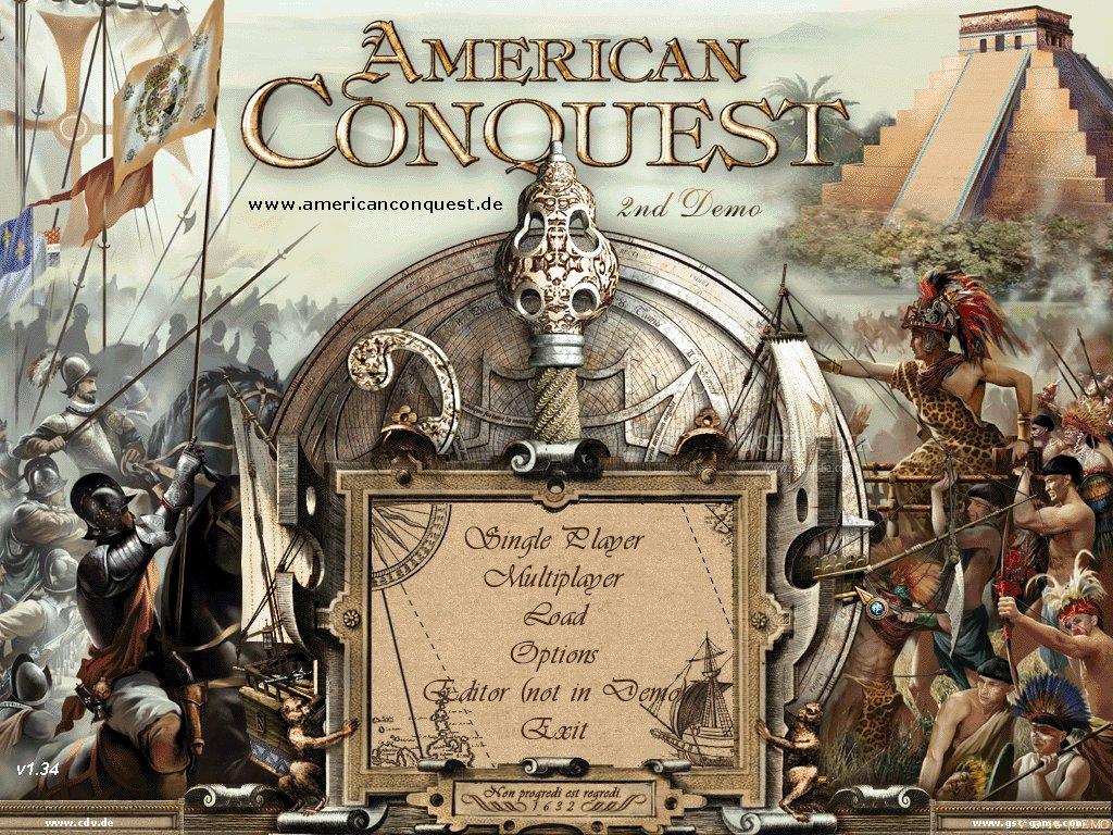 Juegos RTS de Estrategia en 2D American-Conquest_1