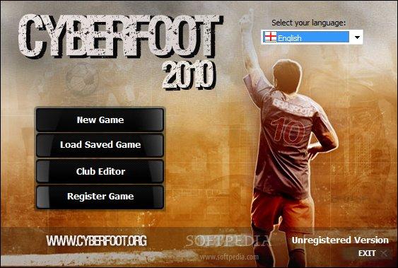 Registro para el Cyberfoot 2010