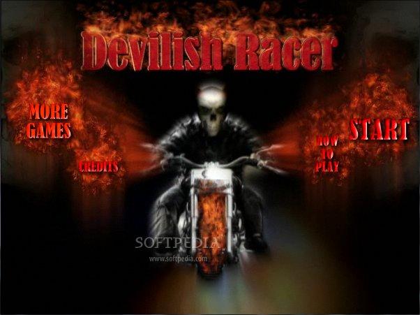 لعبة الموتوسكلات الرائعة والجديدة Devilish