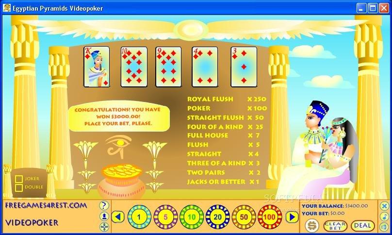 Egypt poker