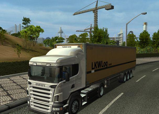 بازی پر هیجان Euro Truck Simulator 2009