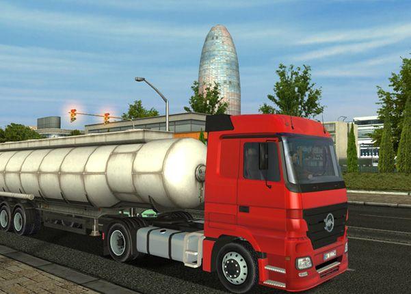 Euro Truck Simulator Demo screenshot 2