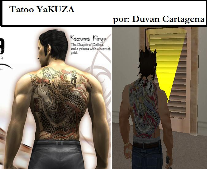 Screenshot 1 of GTA: San Andreas Addon - Tattoo Yakuza