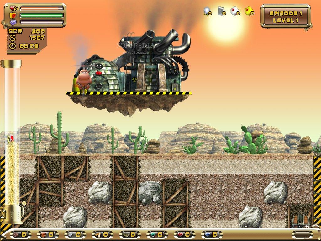 مع لعبة الحفار الممتعة Digger بورتبال بحجم 24.46 ميجا على سيرفر صاروخ