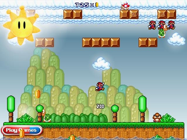 لعبة ماريو الجديدة وتجميع اكبر
