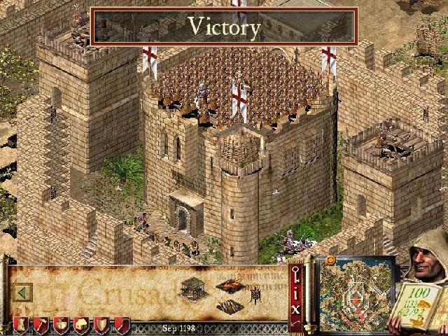 فاته تحميل الأسطورة الإستراتيجية Stronghold