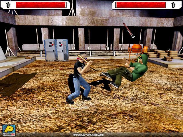 لعبة المصارعة والقتال Underground Fighting