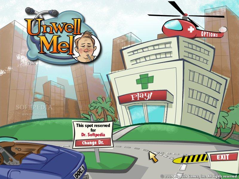 لعبة العيادة الرائعة Unwell بحجم