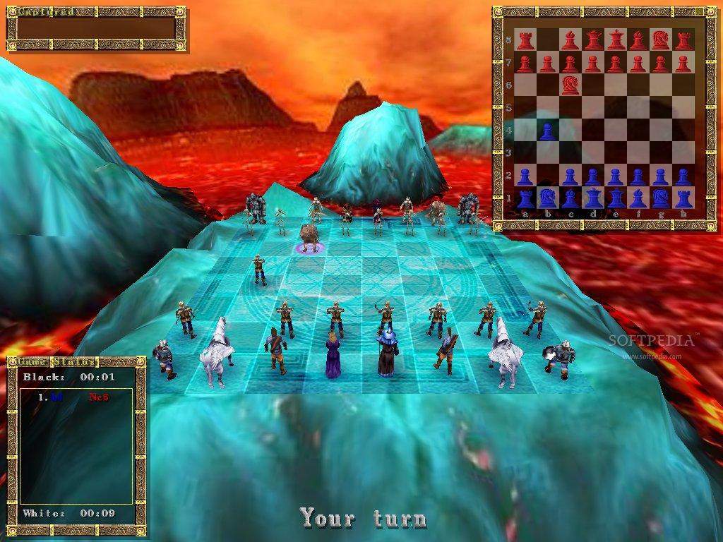 descargar juegos de ajedrez 3d