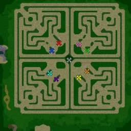 warcraft 3 green td maps
